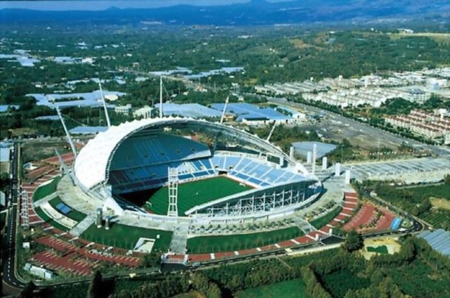 Jeju World Cup Stadium - Pulau Jeju, Korea Selatan